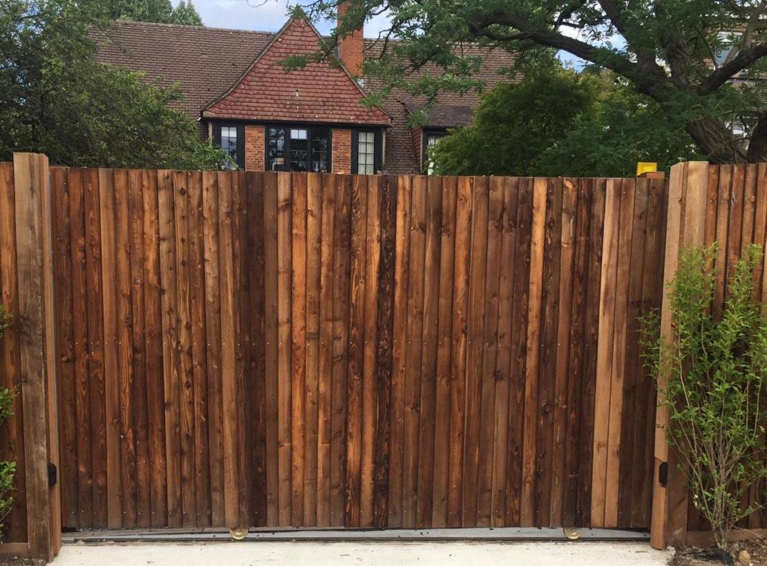 Panel Slider Gate