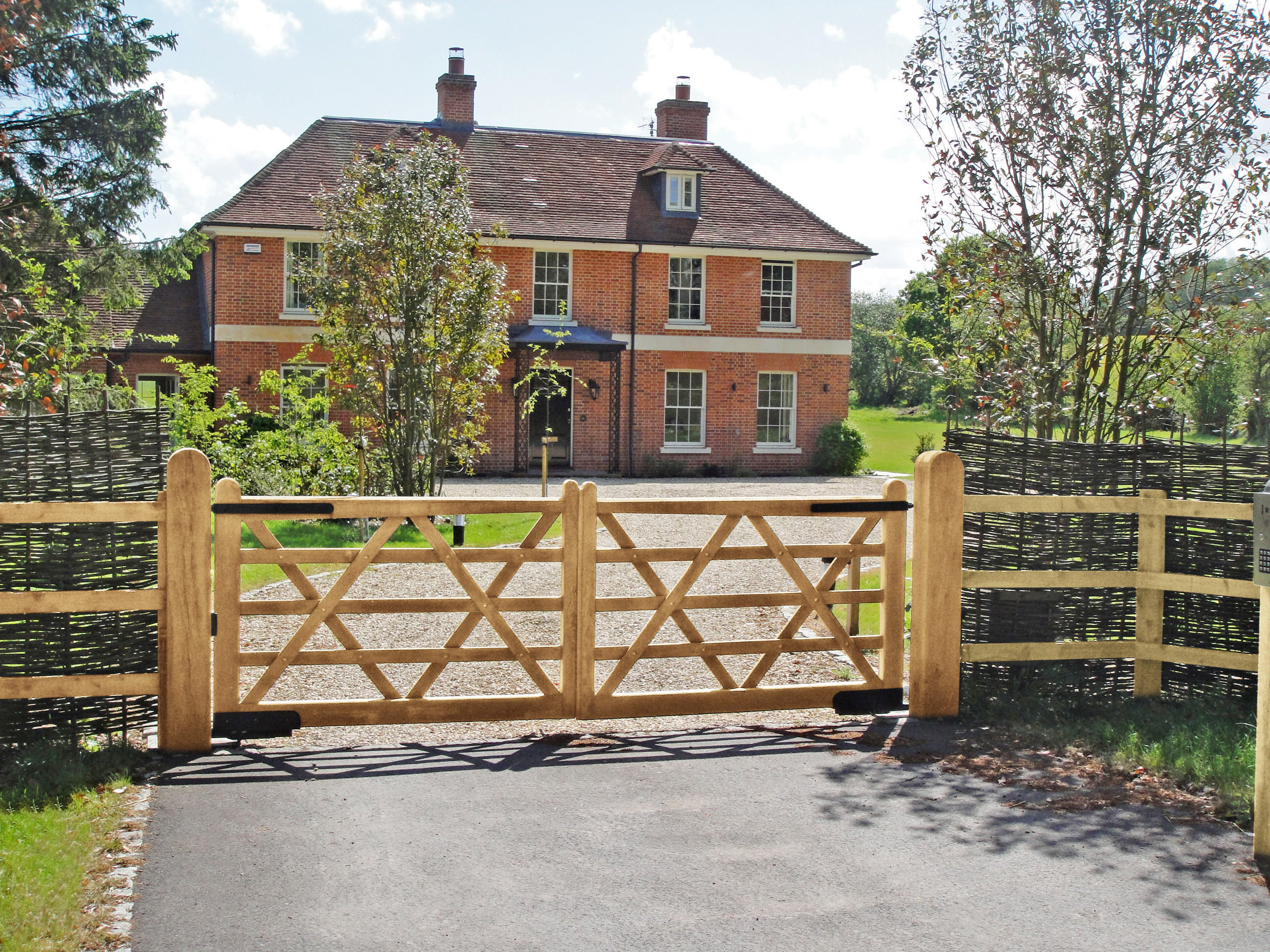 Ascot 5 bar wooden gates